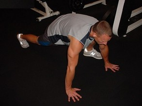 Ab Exercises - The Mountain Climber (left leg)